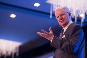 Bob Proctor beim Seminar: